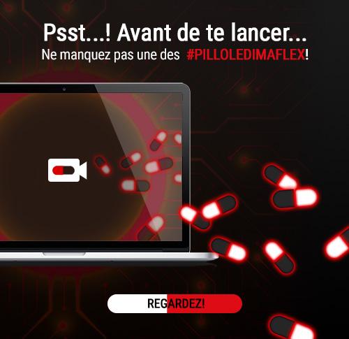 #PILLOLEDIMAFLEX!